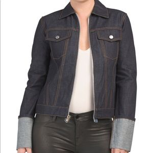 NWT HELMUT LANG Zip Denim Jacket Made in Usa